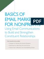 Convio Email Marketing Guide