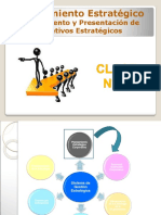 Clase 07 - Planeamiento Estratégico - Alineamiento y Presentación de Objetivo Estratégicos
