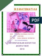 ANALISIS MATEMATIKA UAS