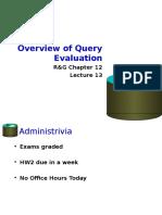 13-Query Evaluation Intro