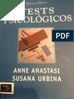 Naturaleza de La Inteligencia Anastasi y Urbina
