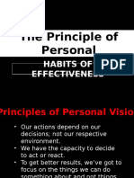 Principles of Personal Leadership