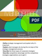 Chapter 9 Strategic Management