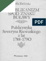 Republikanizm Spod Znaku Buławy Publicystyka Seweryna