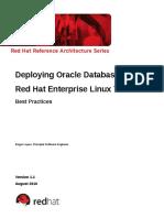 Deploying Oracle 12c Rhel7 Updated-Aug-1-2016