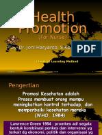 1. Promosi Kesehatan