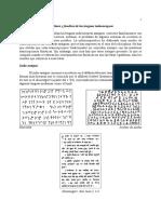 Escritura y Fonética Lenguas Indoeuropeas.wpd)