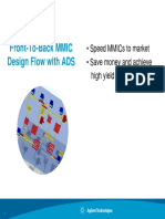 2 Front to Back MMIC Design Flow With ADS