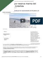Crean La Mayor Reserva Marina Del Mundo en La Antártida _ Noticias Del Mundo _ EiTB