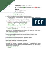 L'écriture des nombres et unités de mesure