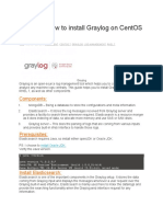 How to Install Graylog on CentOS 7 RHEL 7