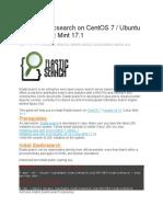 Install Elasticsearch on CentOS 7 Ubuntu 14.10 Linux Mint 17.1
