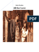 All for Love Research