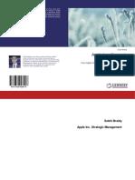 Apple Inc. Strategic Management Implementation 978-3-659-92891-8