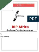 BIP Africa SJMSOM SOM Stunners Business Plan