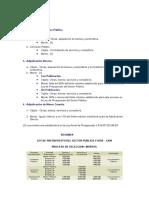 Procesos de Selección_Contrataciones del Estado_Peru