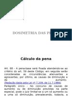 Dosimetria Das Penas Slides