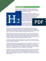 El Hidrógeno Como Energía Alternativa Al Petróleo