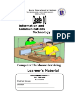 G10 TLE ICT Computer Hardware Servicing