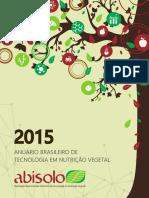 Anuario Nutricao Vegetal-Abisolo2015