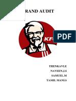 KFC Brand Audit