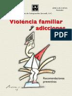 LIBRO Moreno, Kena - Violencia Familiar y Adicciones. Recomendaciones Preventvas (CIJ)