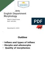 Infixes and Types Infixes