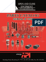 Catalog Open and Close Equipment