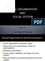 socialorganisationandsocialsystem-140204034124-phpapp01jalaja