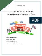Las instituciones educativas, una critica constructiva. By Ivana Lapsynski