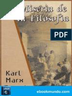 Miseria de La Filosofia (Progre - Karl Marx