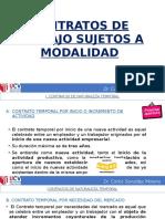 4ºcontratos de Trabajo Sujetos a Modalidad (1)