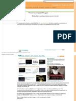Presentaciones en Blogger Lección