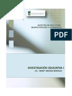 Antologia de Investigación Eductaiva I