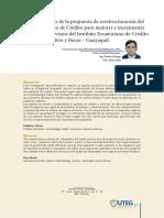UTEGSintesís Propuesta Reestructuración IECE