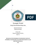Proposal Kerupuk Wortel