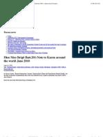 """""""Htee Moo Brig6 Batt.201-Note to Karen around the world June 2010 «"""