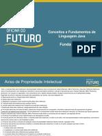 Conceitos Fundamentos Linguagem Java