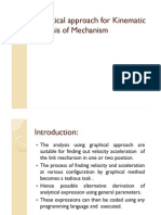 Analytical approach for Kinematic Analysis of Mechanism