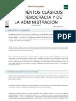 Fundamentos Clasicos de La Democracia y Administracion