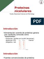 Unidad 1.4 Proteínas unicelulares