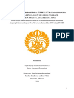 Pembelajaran Kontestasi Global Governance Hak Asasi Manusia