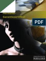 GarantiezertifikatQ22013