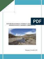 Estudio Hidrologico Represa Chirimayuni
