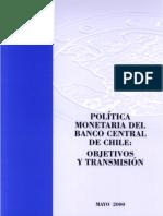Politica_monetaria Del BCChile