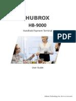 Hubrox User Guide HB 9000