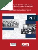 Marques; Stampa. Arquivo, Memória e Resistência Dos Trabalhadores No Campo e Na Cidade. Comunicações... LIVRO
