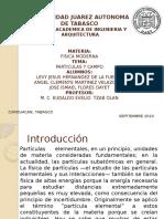 Fisica Moderna- Grupo E -Exposicion Particulas y Campo