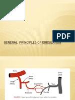 General Principles of Circulation