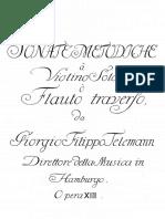IMSLP63134 PMLP128830 Telemann Sonate Medodiche